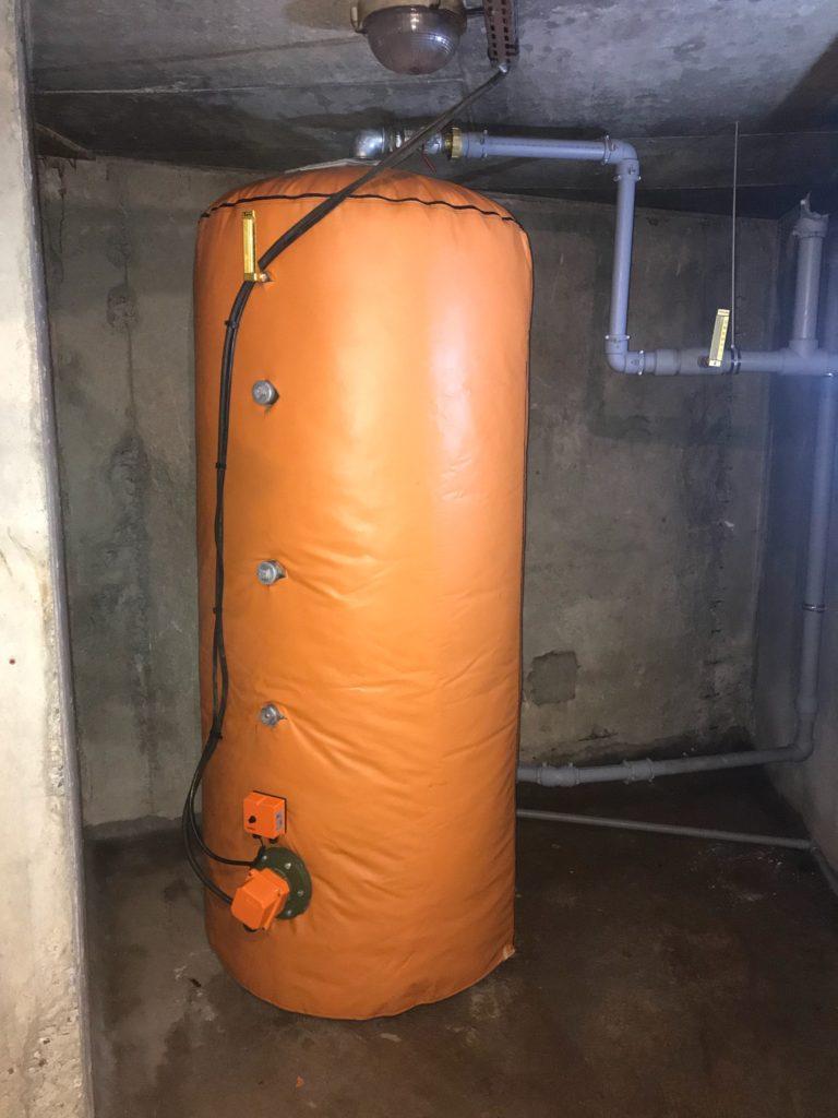 Remplacement chauffe-eau 1000 litres.